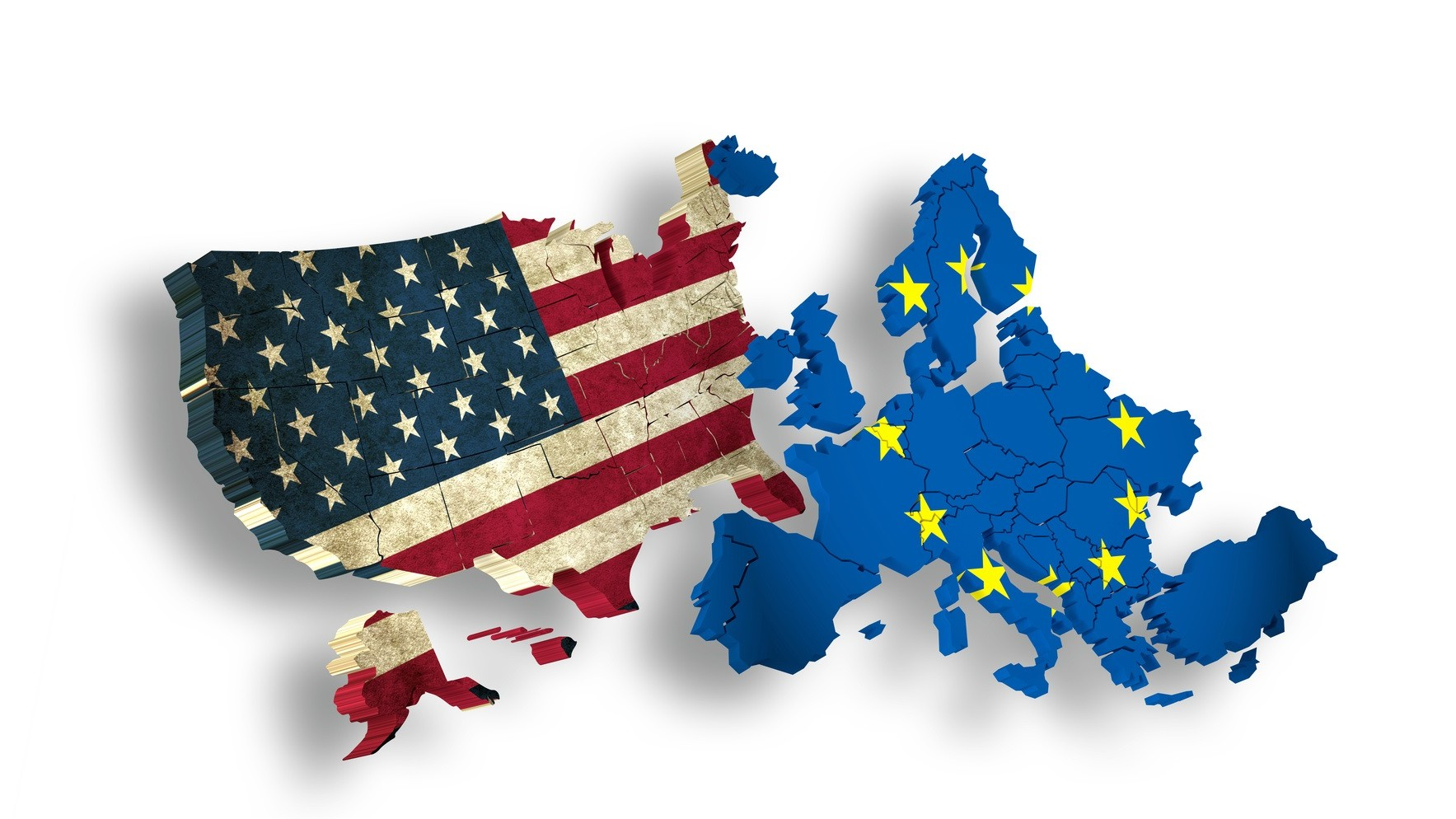 USA and EUROPE / EU – Symbol for TTIP