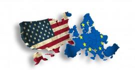 USA and EUROPE / EU – Symbol for TTIP