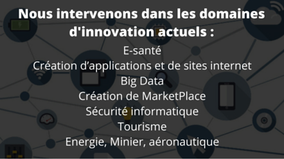 Les domaines d'innovation Winstart