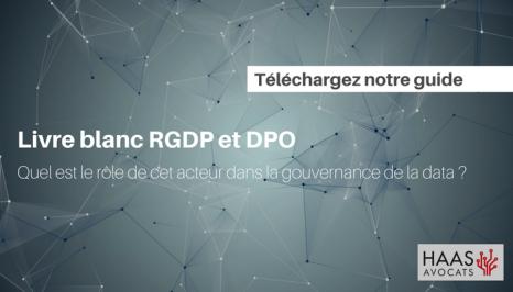 Livre blanc RGPD et DPO
