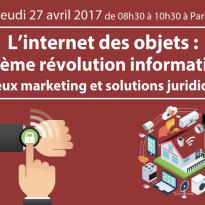 L'internet des objets : la 3ème révolution informatique – 27 avril 2017