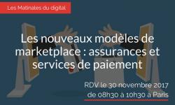 Les nouveaux modèles de marketplace : assurances et services de paiement