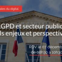 RGPD et secteur public : quels enjeux et perspectives ?