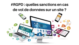 sanctions vol de donnees site web rgpd