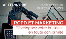 RGPD et Marketing : continuez votre business en toute conformité – 01/03/2018