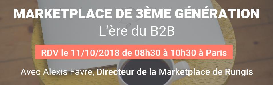 La marketplace de 3ème génération _ L'ère du B2B