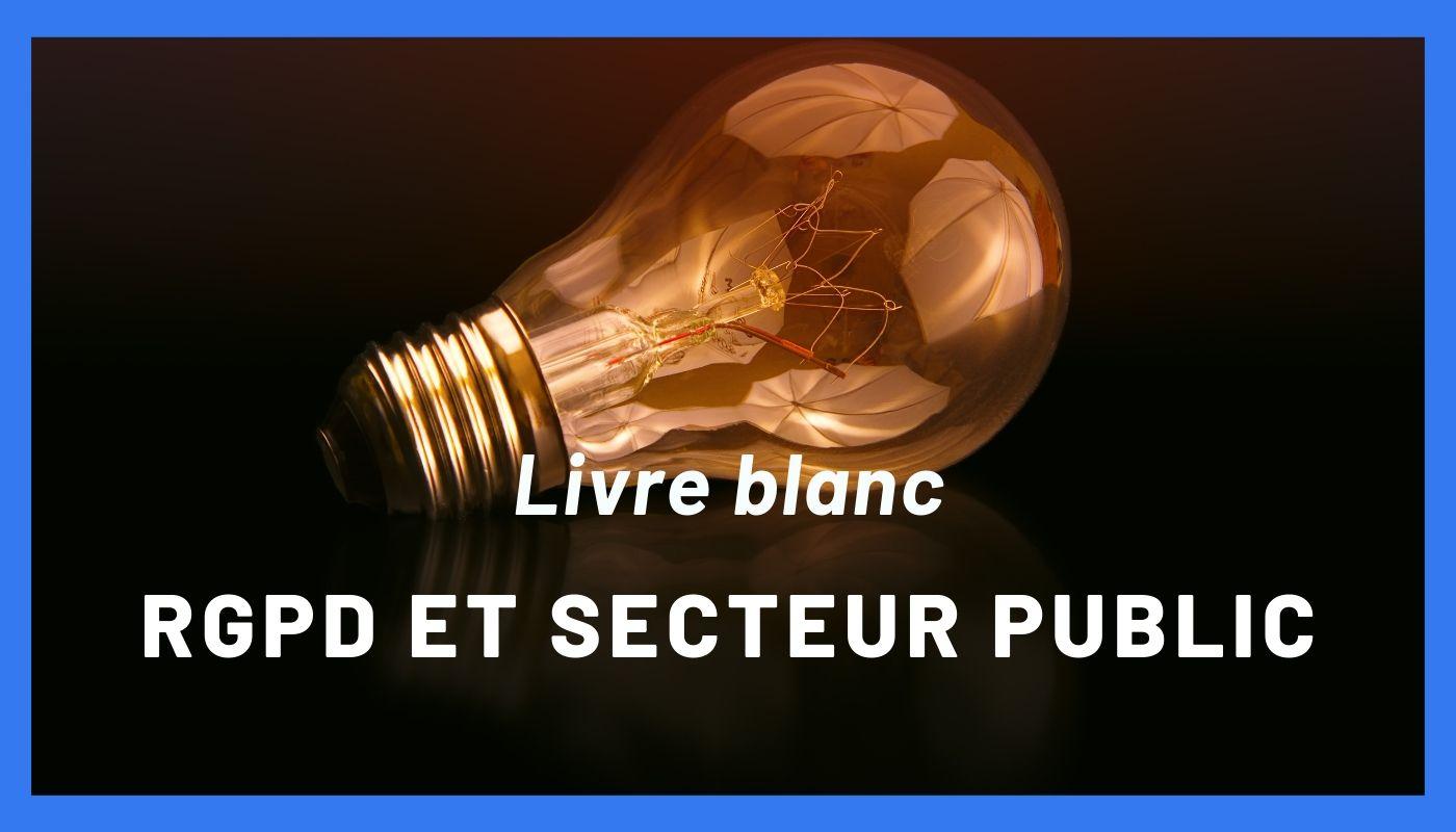visuel livre blanc rgpd secteur public
