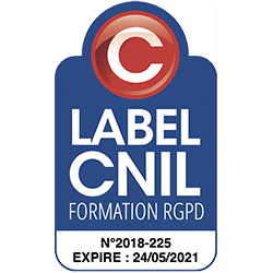 Formation RGPD label CNIL 2021